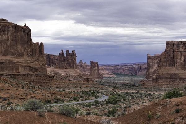 Utah Arches Park by pokeyb