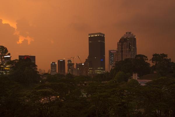 Kuala Lumpur evening by davemck