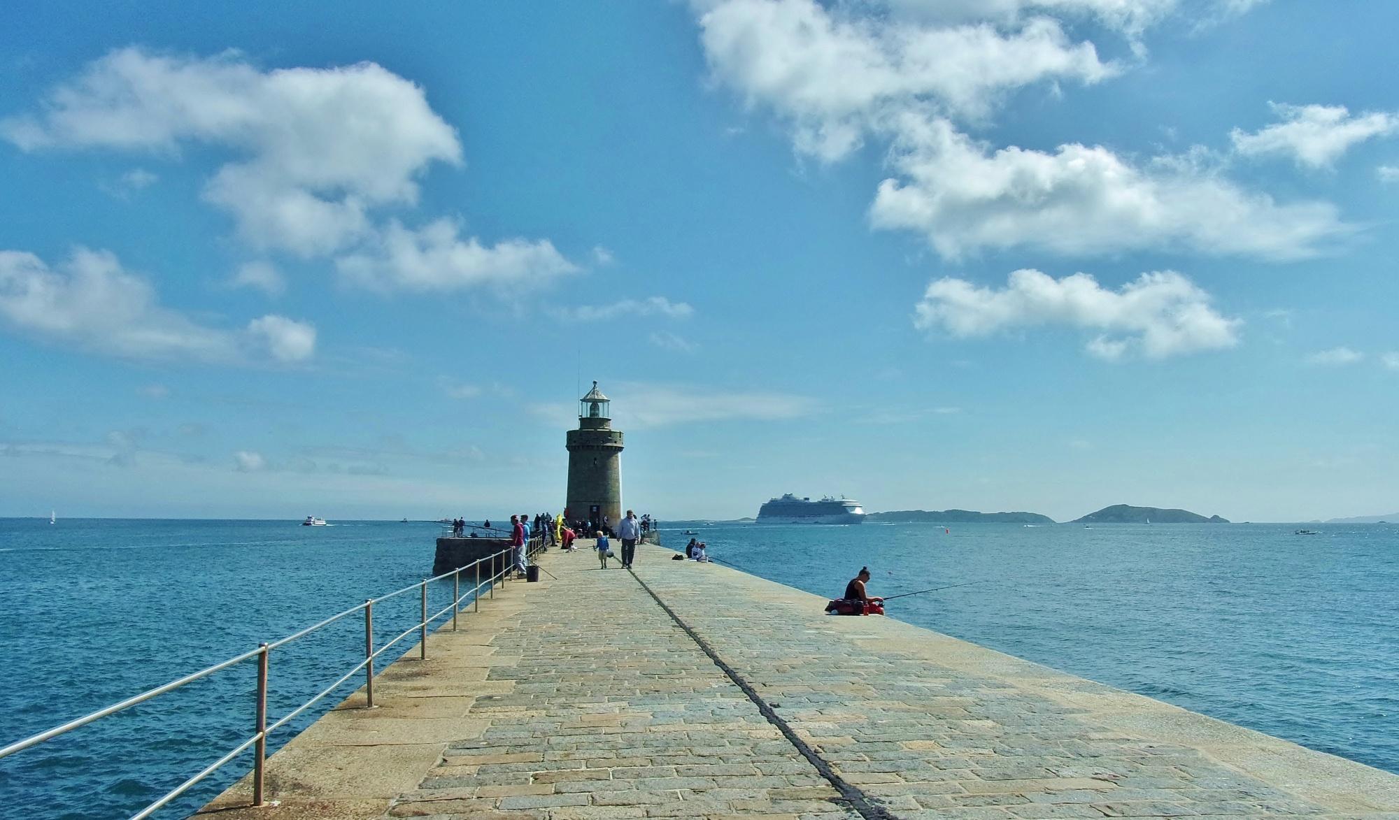 St Peter Port Pier Guernsey