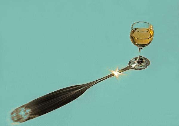 Evening Wine by iancrowson