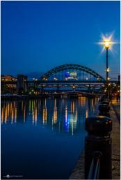 Lighting up the Tyne