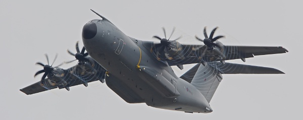 A400m out of RIAT by DaveCole