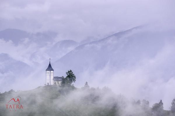 Chruch of St Primoz, Jemnik, Slovenia by TatraPhotography