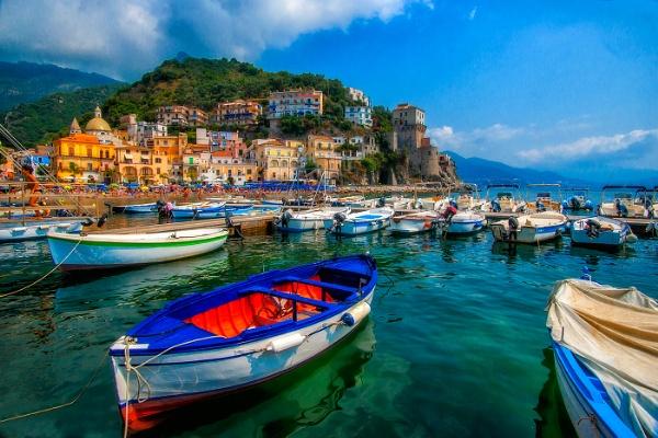 Amalfi Coast Italy by mikepearce