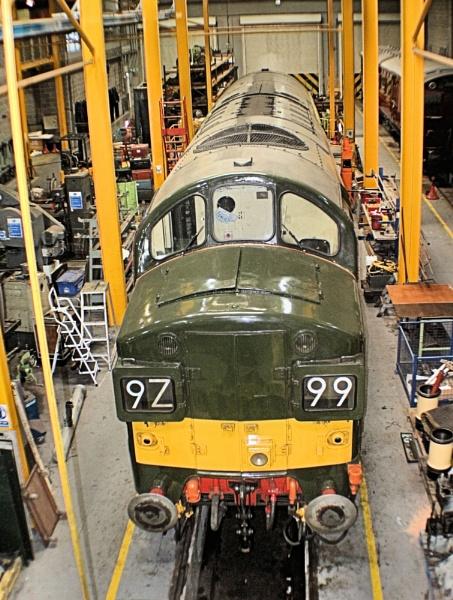 In the workshop for restoration by john calderbank