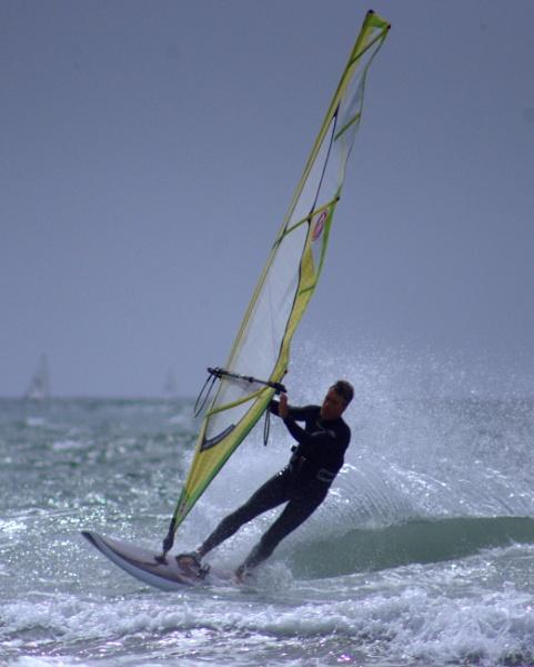 Wind surfer by Priestcove