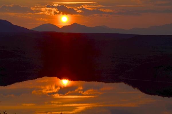 Maclaren River Lodge Sunset by Rebeak