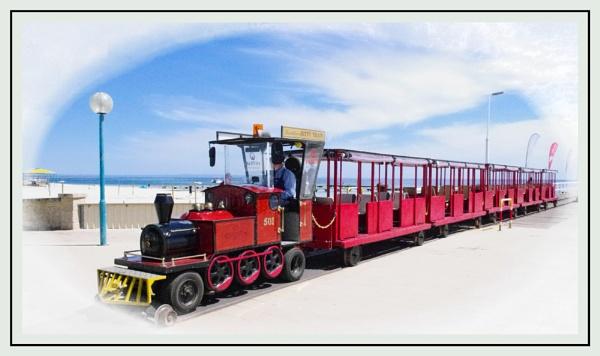 Bussleton JettyÂ's Little Train by Jocelia