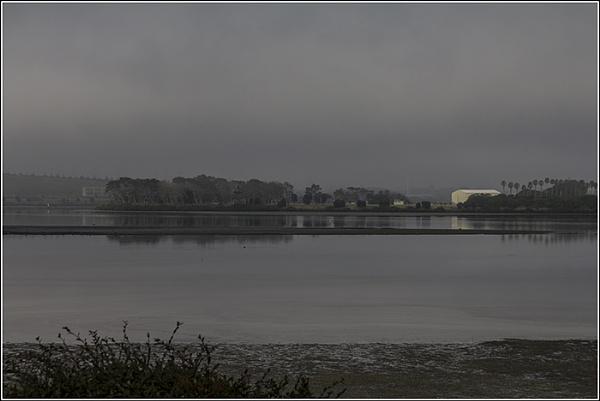 Fog on the Tamaki River Auckland NZ by sidestep