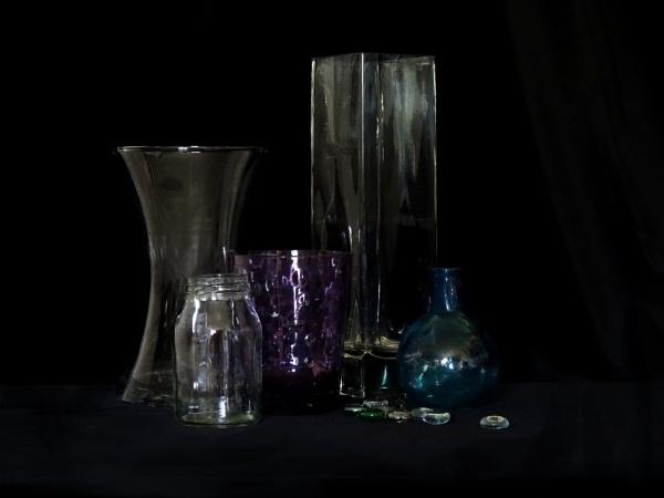 Glass Still Life by PrunellaCara