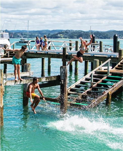 Fun on the Wharf by RockArea