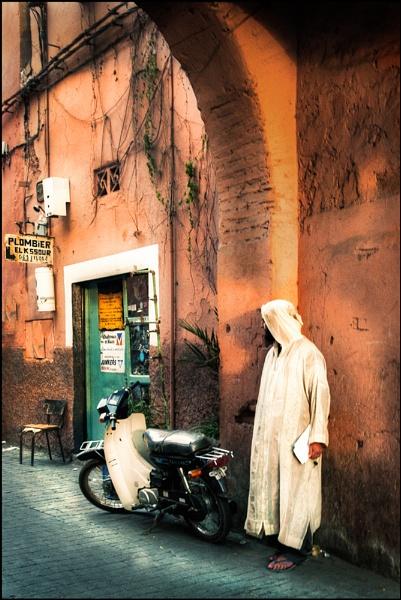 Man in the Medina by AndrewAlbert