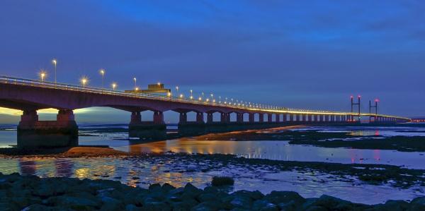 severn bridge by andybebbs