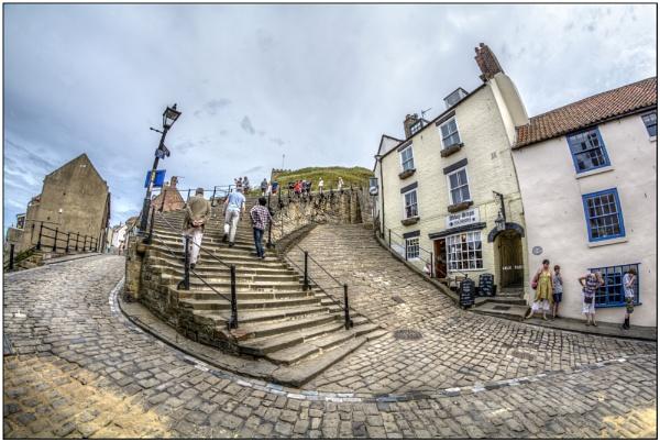 It\'s a long climb up! by TrevBatWCC