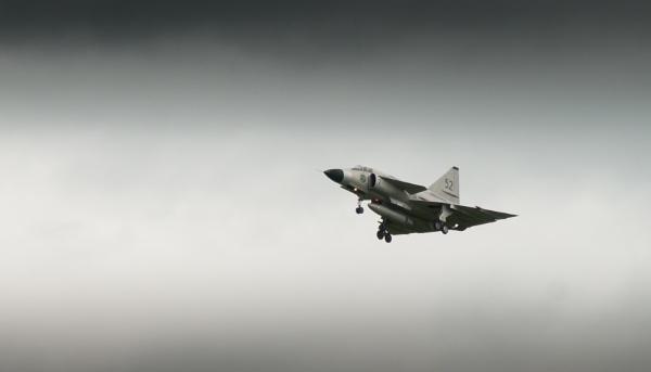 Saab 37 Viggen by JFitz