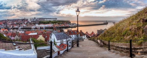 Whitby 199 Steps by CanonBenny