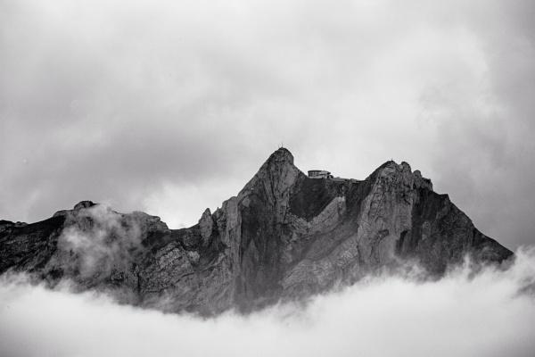 Mount Pilatus above Lucerne. by petach