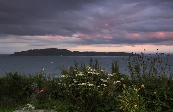 Sunset over Sanda by Irishkate