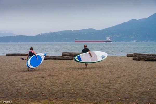 Kayaking time! by Swarnadip