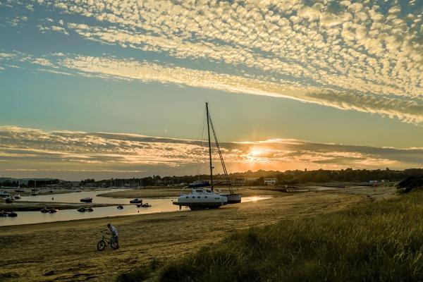 Sundown at Bembridge by Fefe