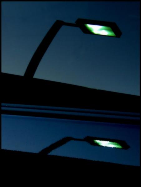 Double reflection by Aldo Panzieri
