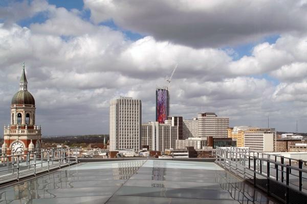 Croydon Skyline by nickelstix
