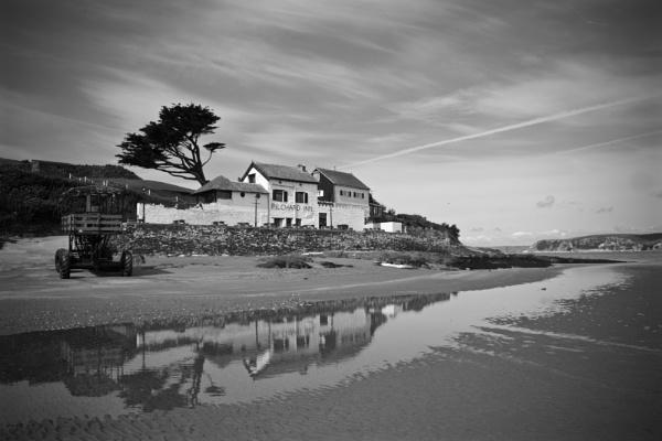 Pilchard Inn, Burgh Island by rob wilkins