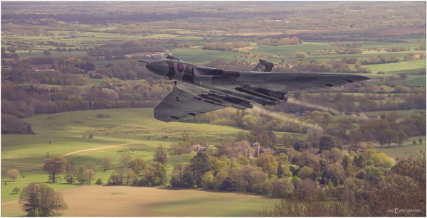 Vulcan over the South Downs II by NDODS
