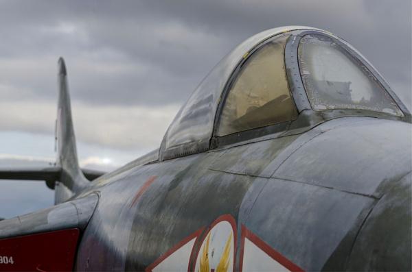 Hawker Hunter by martfaulkner