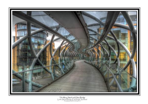 The Wavy Steel and Glass Bridge by MunroWalker