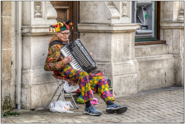 The Busker by TrevBatWCC