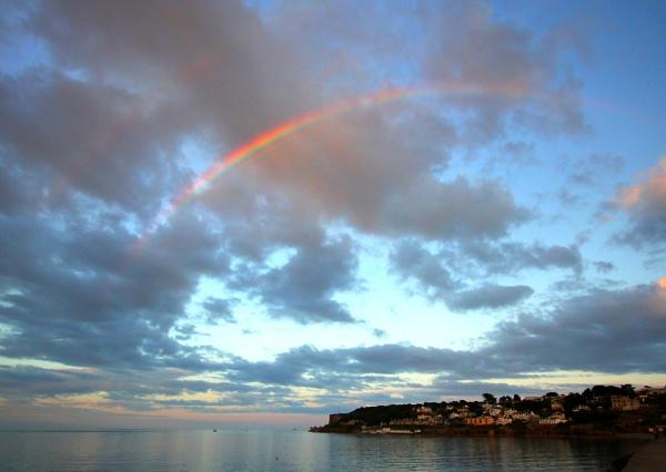 Berry Head Rainbow by Bigdenbo