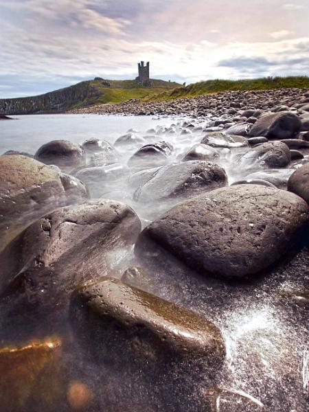 Dunstanborough Castle by SteveMcHale