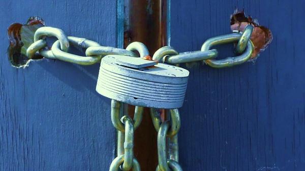 Locking up! by Chinga