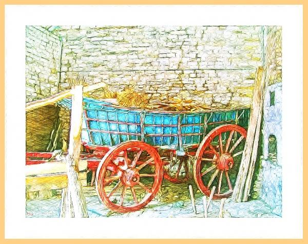 Red Wagon. by WesternRed