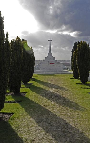 War Cemetery Shot by bobtl