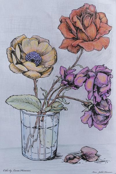 Flowers. by Jukka