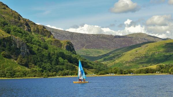 Llyn Gwynant Snowdonia by netta1234