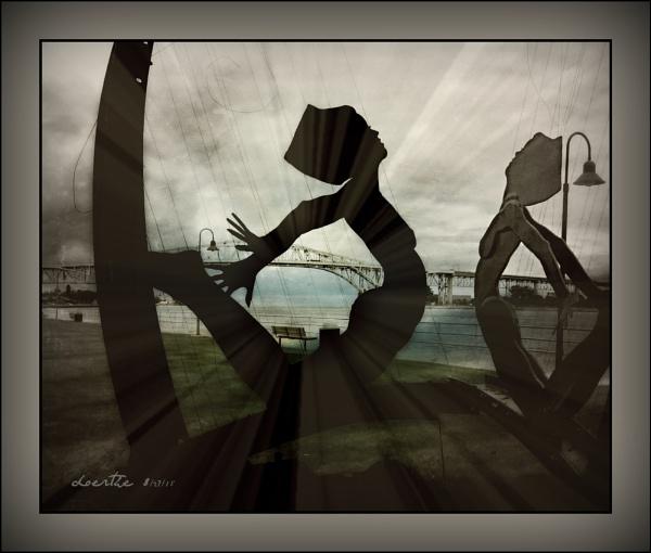 Music under the bridge by doerthe