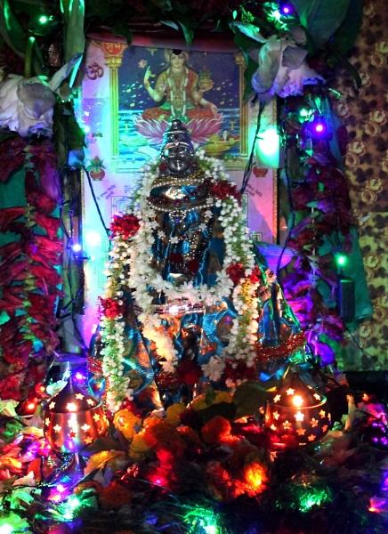 Goddess of wealth. Lakshmi by sugavanam