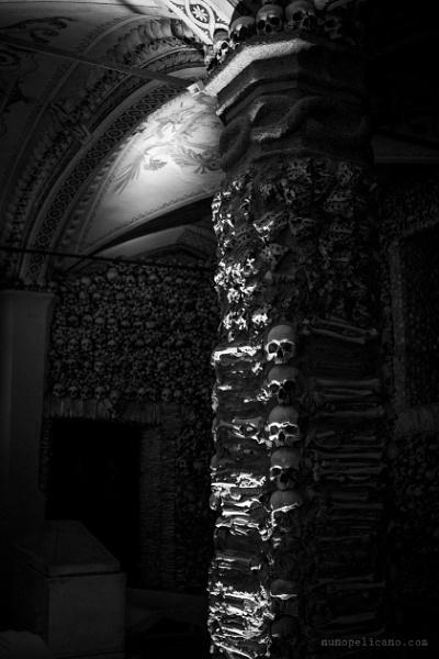 Capela dos Ossos (Chapel of Bones) by serumeiro