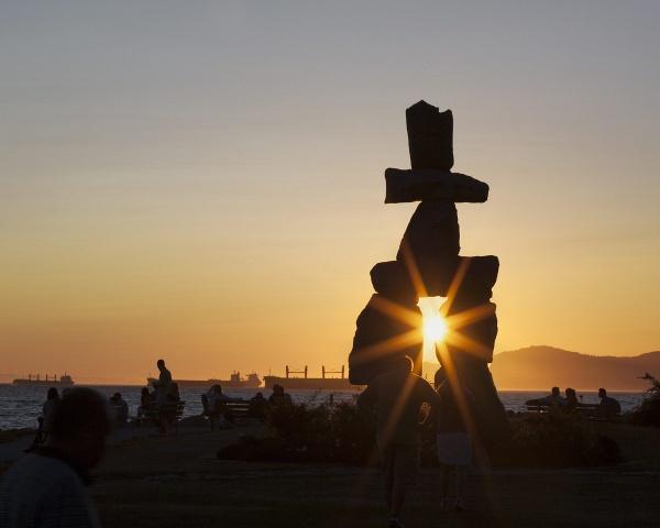 Inukshuk - Vancouver by ladigit