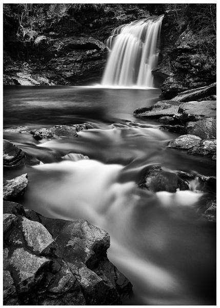 Falloch Falls by Cammy