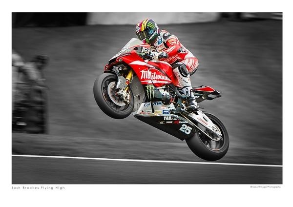 Josh Brookes Flying High by running_man
