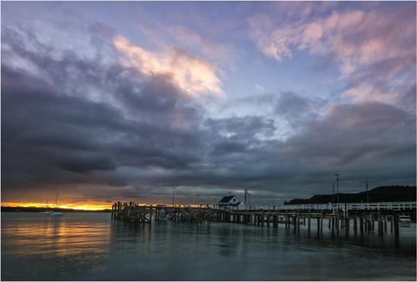 Russell Wharf Sunset by RockArea