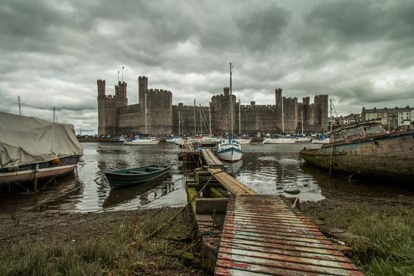 Caernarfon Castle by Istretch