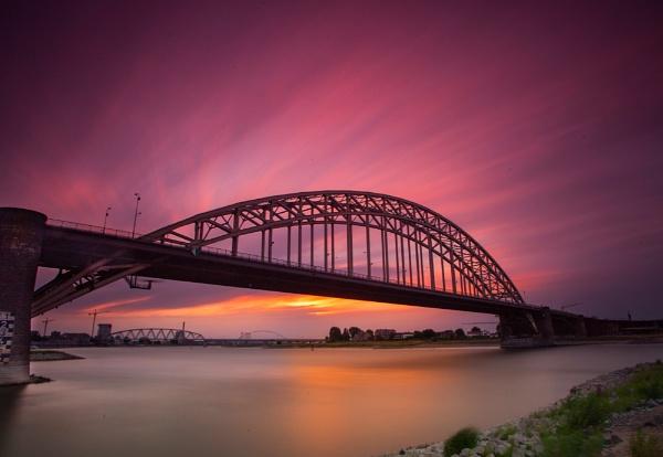 NIjmegen Evening Light by saeidNL