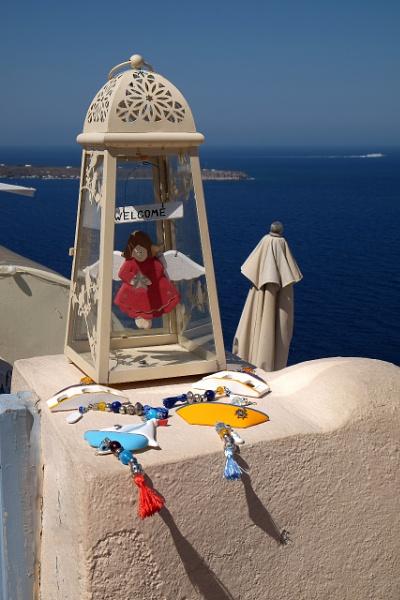 Santorini Welcome by SteveBaz