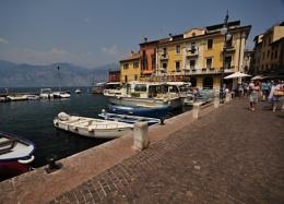 at Torri lake Garda