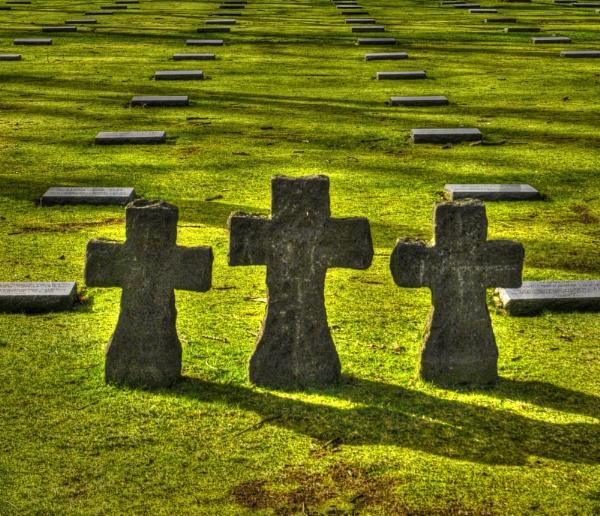 German War Cemetery Langemark by bobtl